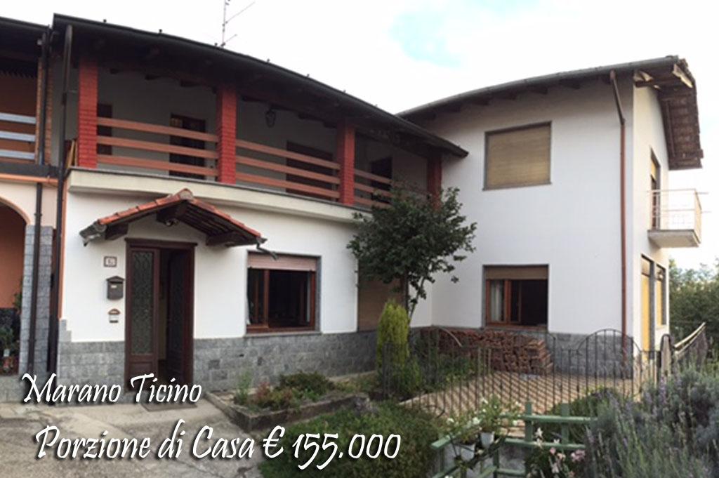 Porzione di casa Marano Ticino