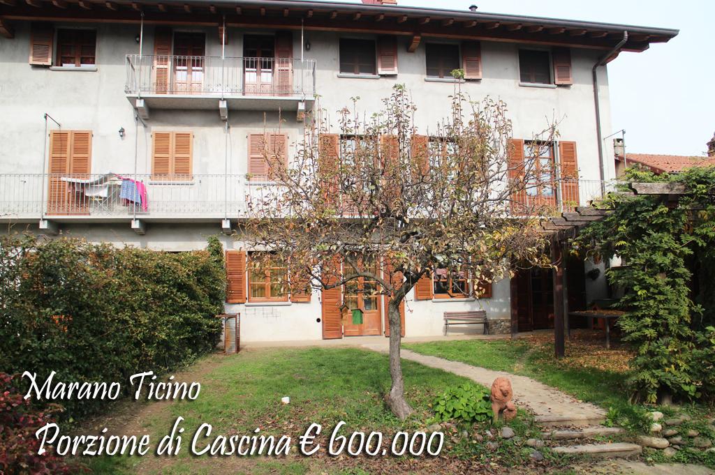 Porzione di cascina Marano Ticino