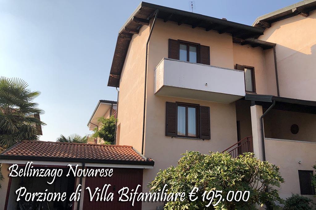 Villa bifamiliare Bellinzago Novarese