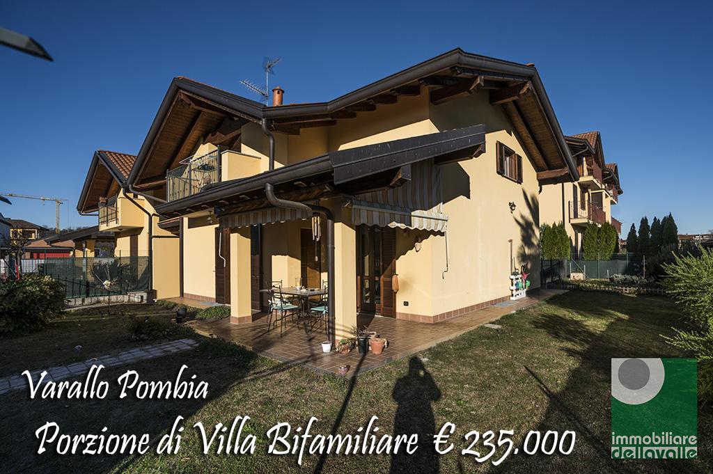 Villa bifamiliare Varallo Pombia